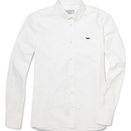 MAISON KITSUNE - Kitsuné Button-Down Collar Oxford Shirt