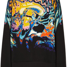 CHRISTOPHER KANE - Brain-print cotton sweatshirt