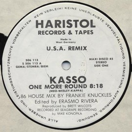 Kasso - One More Round (86 House Mix)