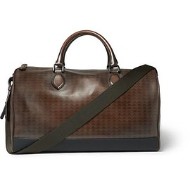 Berluti - Jour-Off Vitello Pythagora Patterned Leather Holdall