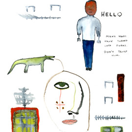 John Lurie - Man's Hands Have Turned Into Forks. Don't Trust Him.