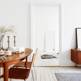my scandinavian home: A beautiful Stockholm apartment with mid-century touches