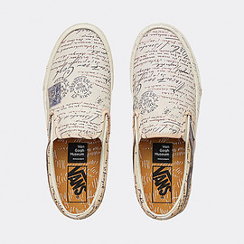VANS - Slip-On Vincent Van Gogh - Letters