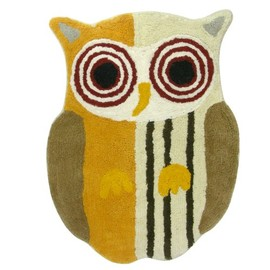 Allure Home Creations - Allure Home Creations Hoot Bath Rug