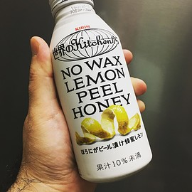 世界のkitchenから - NO WAX LEMON PEEL HONEY