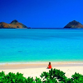 "Hawaii - Lanikai Beach ""Sea of Heaven"""