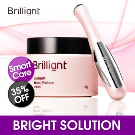 Brilliant - [WHITENING KIT] Love Heart W Care : Platinum Cream + Smart Finger