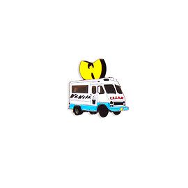 Wutang - Ice cream truck pin