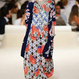 CHANEL - RESORT 2015 Chanel /model:Juliette Fazekas