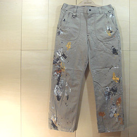 TAR - 「Flash-ray Pants」PAINTed by MIRROR HAND