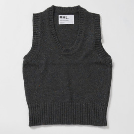 MHL. - MHL DONEGAL KNIT VEST