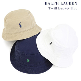POLO RALPH LAUREN - Twill Bucket Hat