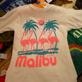 Malibu flamingo T-shirt