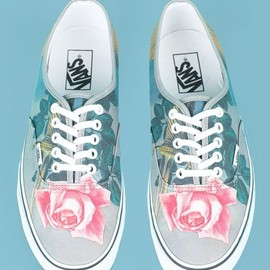 VANS, Opening Ceremony, Magritte - Blow to the Heart Vans Canvas Sneakers