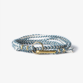 hobo - STITCHED CORD BRACELET WITH BRASS HOOK
