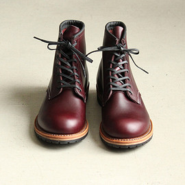 RED WING - Round-Toe Beckman Boots [Black Cherry,Featherstone]