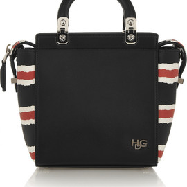 GIVENCHY - Mini House de Givenchy bag in printed leather