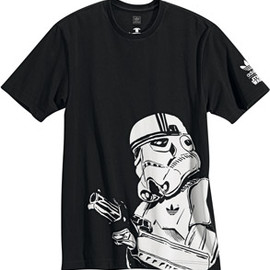 adidas originals - Adidas STAR WARS Stormtrooper T-shirt black