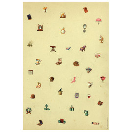 John Derian Company - Bits (wrapping paper)