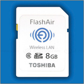 "Toshiba ""Flash Air"" - Wifi Memory card, 8GB"