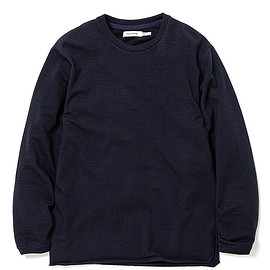 nonnative - DWELLER L/S TEE W/N/P HEAVY JERSEY Mt.Breath Wool®