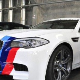 BMW  - M5(F10 ) Ring Taxi, 2012