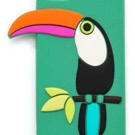 kate spade NEW YORK - kate spade new york | toucan silicone iPhone 5/5s case