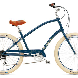 electra - townie balloon 8D Navy Mens model