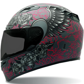 BELL - Vortex Womans Archangel Matte Motorcycle Helmet