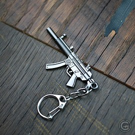 HK MP5 SD6 Metallic Keychain $6.99