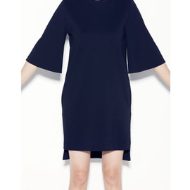 YOKO CHAN - YOKO CHAN BELL-SLEEVE DRESS