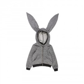Smallable - Rabbit ears sweatshirt Talc