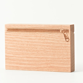 CEMENT PRODUCE DESIGN, Card Chest - zip / birch