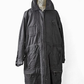 SIVA - HVW-CLT / FLIGHT SOUIT LONG COAT