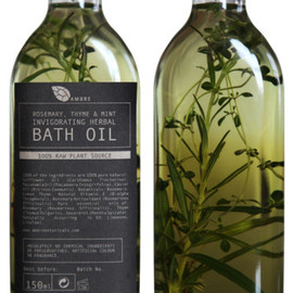 AMBRE - BATH OIL