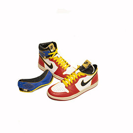 theheyyman, Jordan Brand, NIKE - Air Jordan 1 High/Low - Union Drop Top Custom