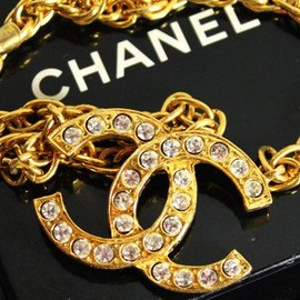 CHANEL - Vintage/1970s -1980s/Logo Necklace