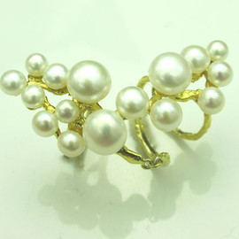 ambergris - Pearl Ring
