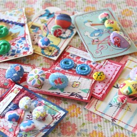 Curly@Home - Vintage Buttons