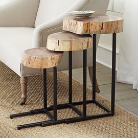 NATURE'S NESTING TABLES - SET OF 3