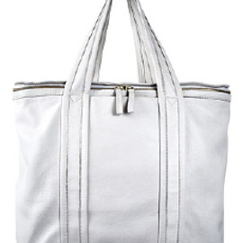 PIERRE HARDY - Tote White Lether