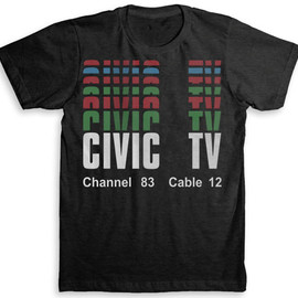 Videodrome (Civic TV) Movie T Shirt