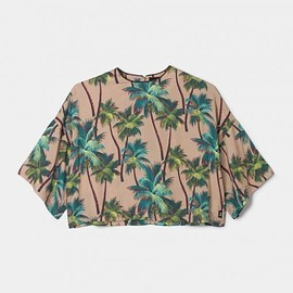 stussy women - Palm Cropped Top