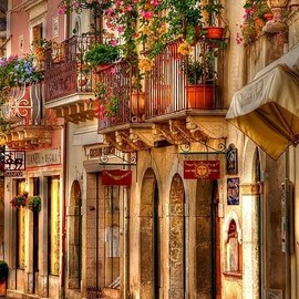 Sicily, Italy - Beautiful streets, Taormina