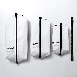 retaW, fragment design - travel pouch white