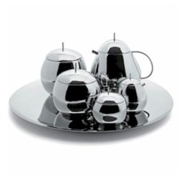 ALESSI - SANAA 'Fruit Basket' Tea Set by Kazuyo Sejima