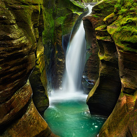 Ohio - Corkscrew Falls