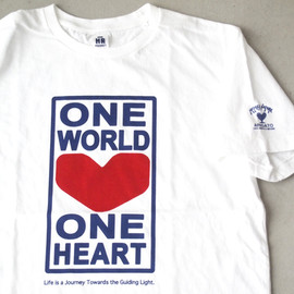 HOLLYWOOD RANCH MARKET - ONEWORLD 2 SS TEE