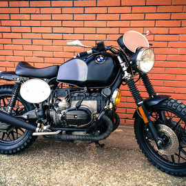 Centermotors - BRAT LADY / BMW R 100 CS scrambler