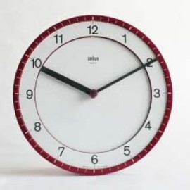 BRAUN - Wall Clock ABK30/Type4861 Made in Germany
